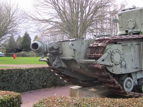 Churchill Crocodile Normandy.