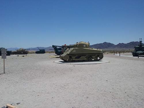 Our dispaly in the desert