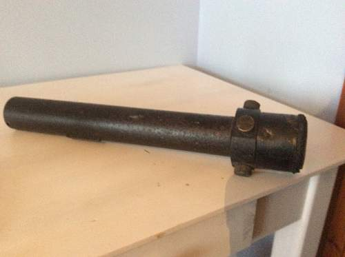Antique shop find 2 pounder aiming sights . Mk iis No 33
