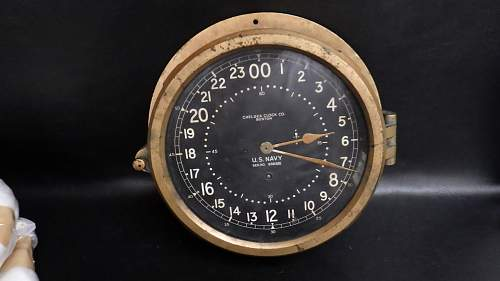 Chelsea US navy clock ...to ID....