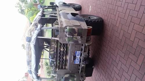 Australian Army Perentie ffr