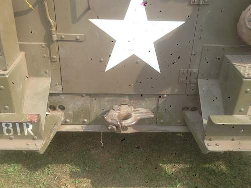 American half track/heavy truck tow hitch.