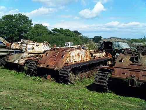 Sherman restoration on the Isle of Wight