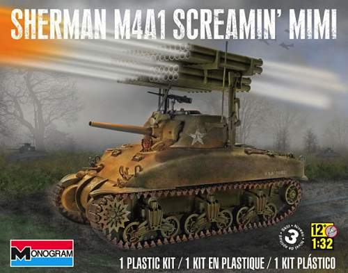 M4 Sherman with rocket launcher