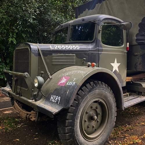 Allied 6 Wheel truck