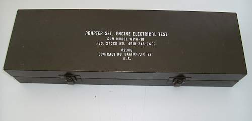 Adapter Set, Engine Electrical Test