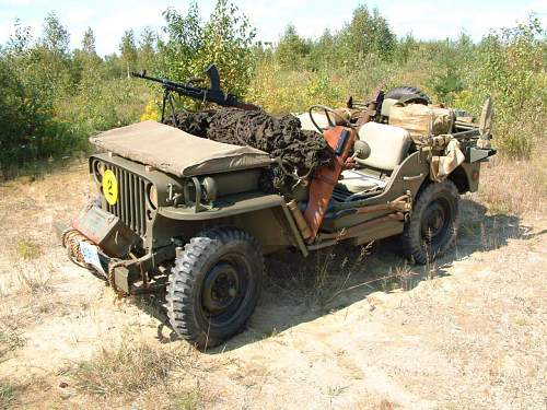 My Late 44 Willys Jeep