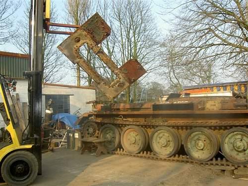 Mk 6 cromwell restoration