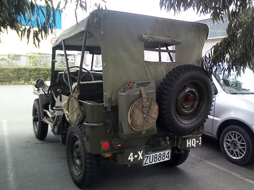 My Mates 1942 Willys Jeep.