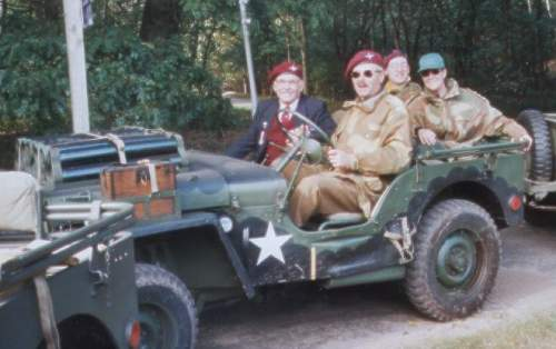 Click image for larger version.  Name:Us and Don in the Jeep Arnhem 2002..JPG Views:400 Size:40.1 KB ID:254691