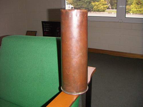 1942 Australian 25 Pounder case