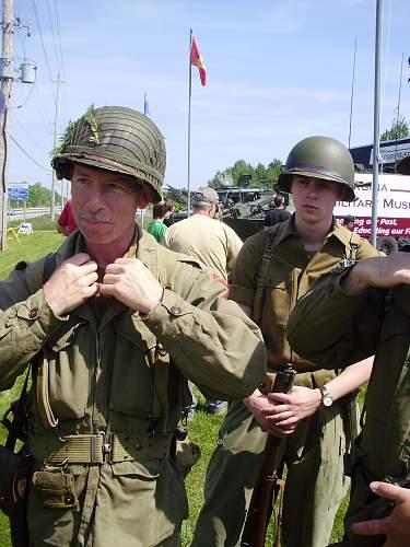 4th Annual 'Military Vehicle Day' - Georgina Ontario, Canada.........