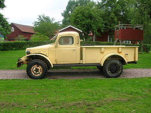 my brothers Dodge wc-43