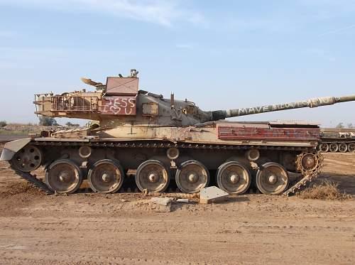 Tank grave yard iraq