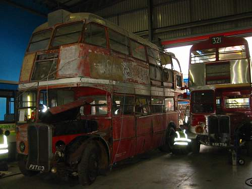 Now Something completely different- Wartime London Buses!