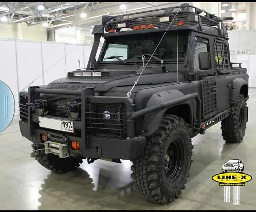 Military Landrover?