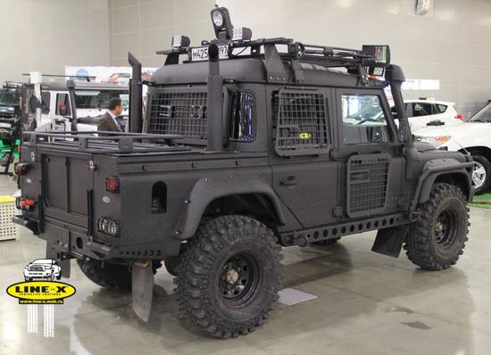 Military Landrover