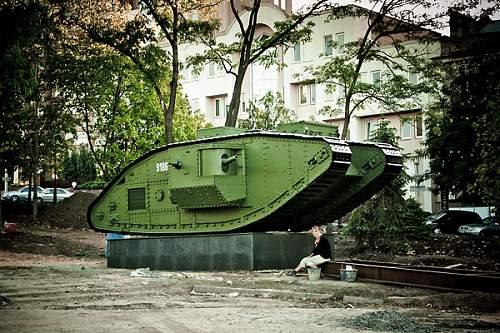 Mark V Refurbished British Tanks