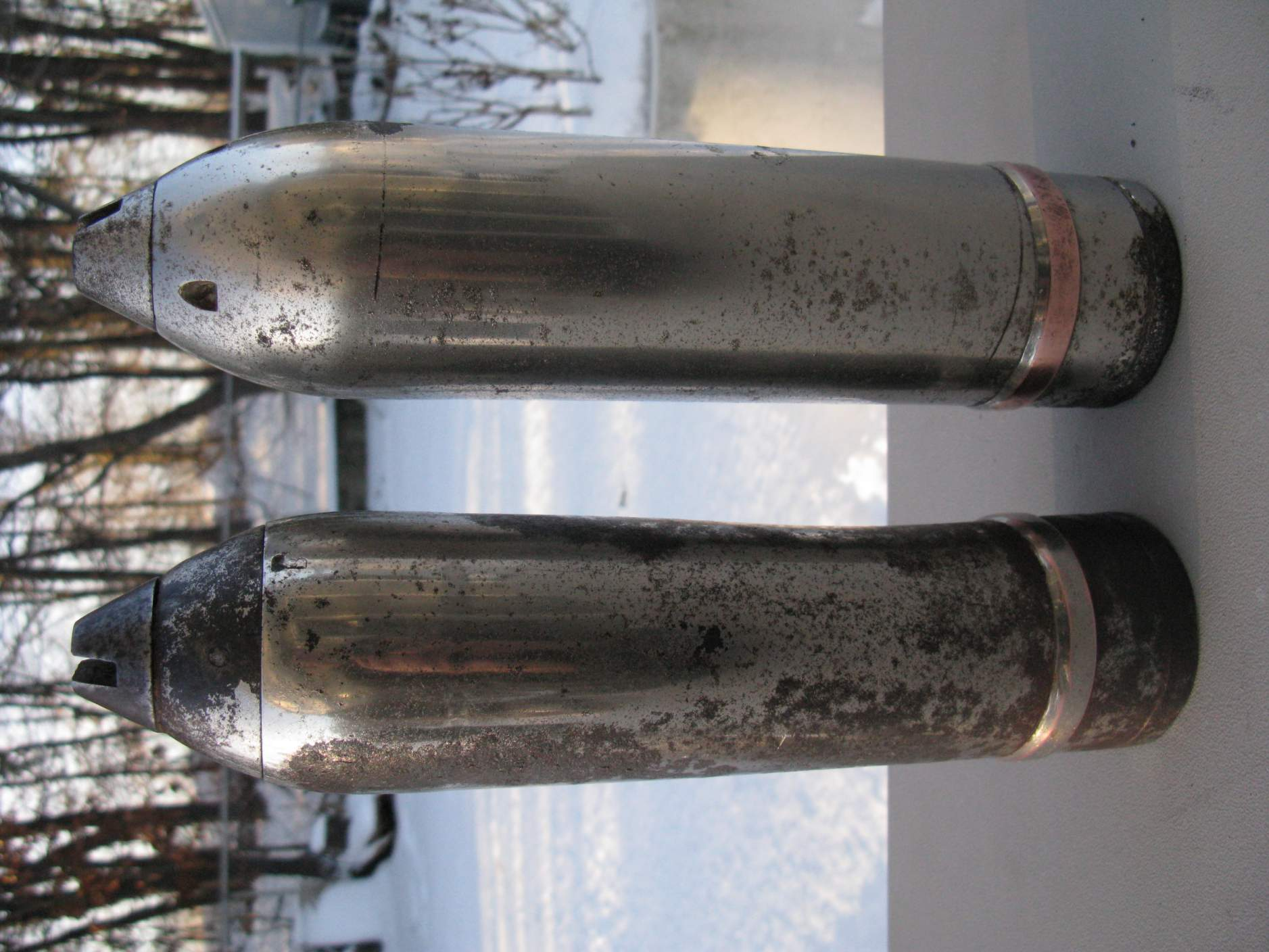 question 12 inch shell projectile identification