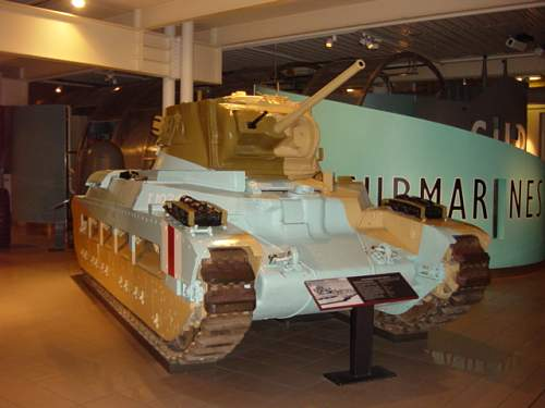 British Matlida MKII (Tank, Infantry, Mk II, Matilda II (A12) ).