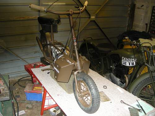 Welbike and BSA C10