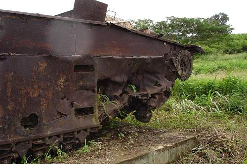 American War relic tanks