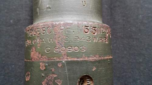 M4 Sherman Tank Gun Telescope?