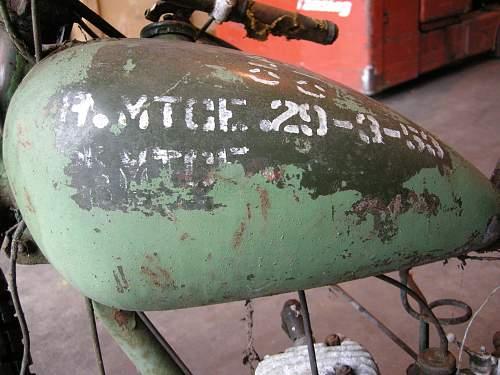 RE WD Flying flea 125cc.