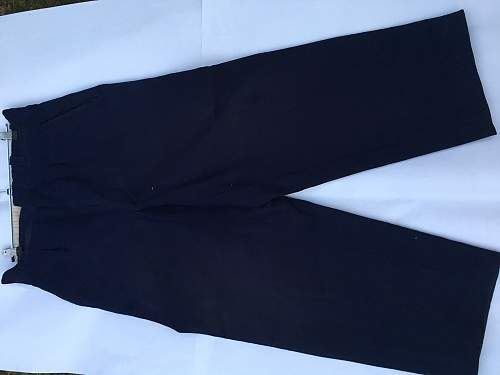 Service Border guard officer's trousers
