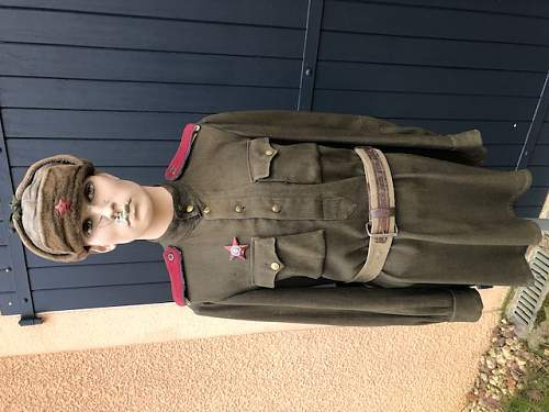 NKVD private uniform