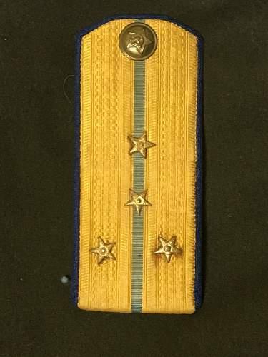 Small NKVD uniform collection