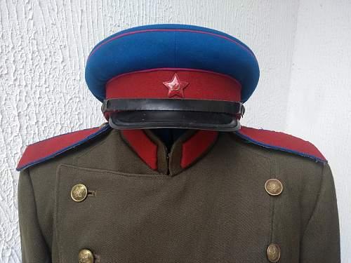 NKVD Mundir Types