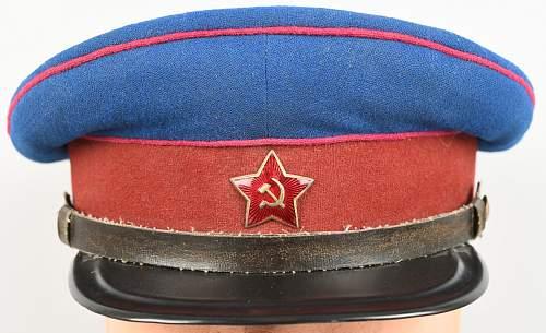 Another NKVD Visor Cap