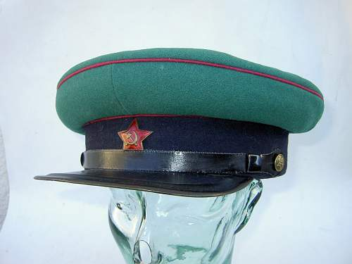 Nkvd border guards furazhka , made in vladivostock