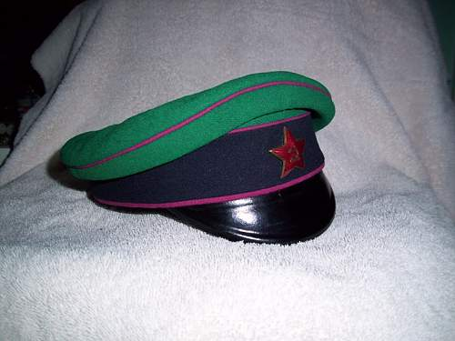 1920's OGPU Border Guard visor
