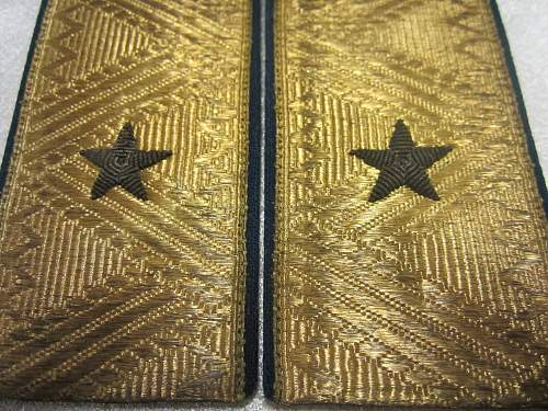 NKVD's general shoulder boards