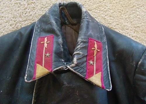 NKVD Pilots leather jacket