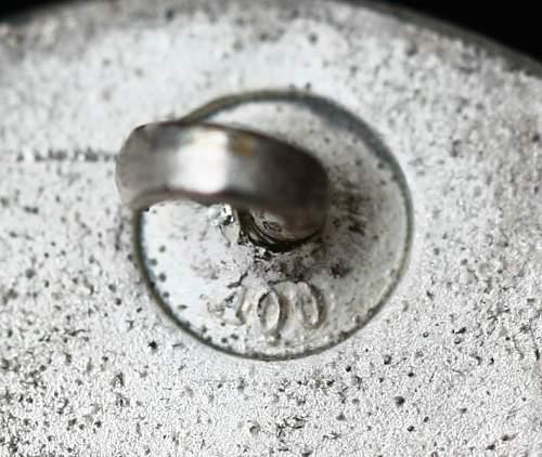 Verwundetenabzeichen in Silver! Thoughts?