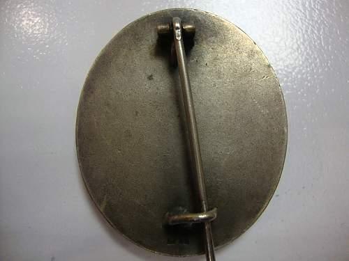 L/13 Verwundetenabzeichen in Silber