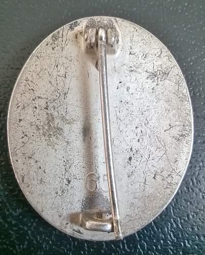 Verwundeten-Abzeichen 1939 (Silver)
