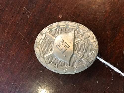 Verwundetenabzeichen - Silver Wound Badge