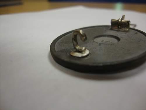 Verwundetenabzeichen in Silber - L24