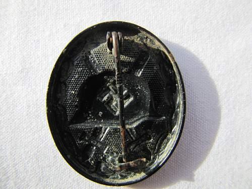 Verwundetenabzeichen in black (MM 118)