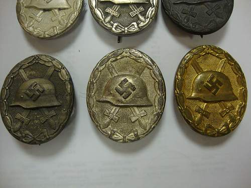 My small Verwundetenabzeichen collection