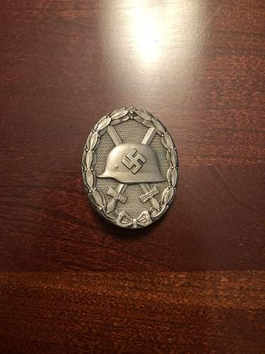 Verwundeten-Abzeichen 1939 in Silber