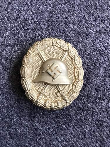 Silver Condor Legion Verwundetenabzeichen HELP