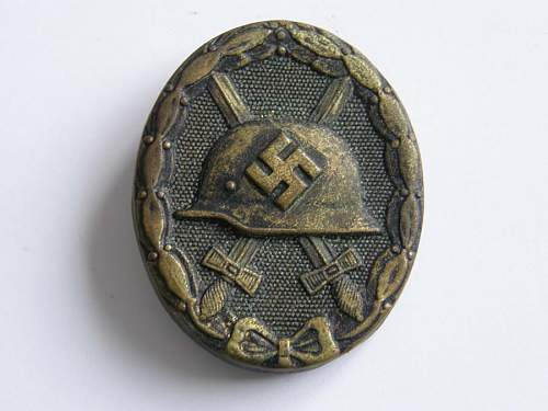 Is this Wound Badge in Black Original?