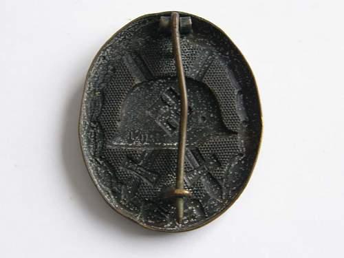 Is this Verwundetenabzeichen 1939 in Schwarz Original?