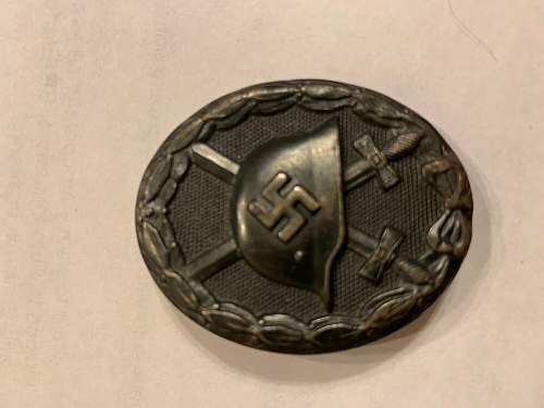 First items purchased -Verwundetenabzeichen 1939 in Schwarz