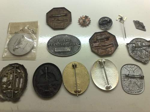 Here's my other collections, I'm sure some of these are fakes...